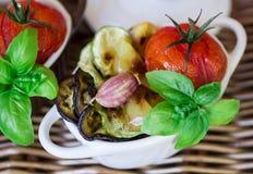 ψημένα λαχανικά Στοκ φωτογραφίες με δικαίωμα ελεύθερης χρήσης