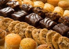 ψημένα γλυκά Στοκ Φωτογραφία