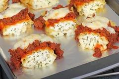 ψημένα ζυμαρικά lasagna Στοκ φωτογραφία με δικαίωμα ελεύθερης χρήσης
