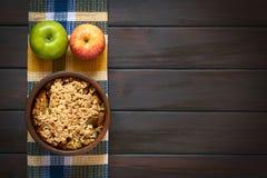 Ψημένα θίχουλο ή πατατάκια της Apple Στοκ εικόνα με δικαίωμα ελεύθερης χρήσης