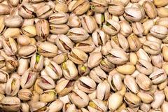 Ψημένα και αλατισμένα φυστίκια - υπόβαθρο Στοκ Εικόνα