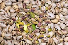 Ψημένα και αλατισμένα φυστίκια - υπόβαθρο Στοκ φωτογραφία με δικαίωμα ελεύθερης χρήσης