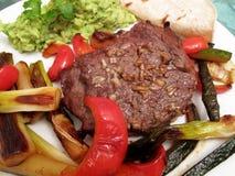 ψημένα λαχανικά μπριζόλας κ Στοκ φωτογραφία με δικαίωμα ελεύθερης χρήσης