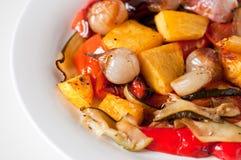 ψημένα λαχανικά Στοκ Εικόνες