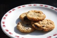 ψημένα μπισκότα πρόσφατα Στοκ Εικόνα