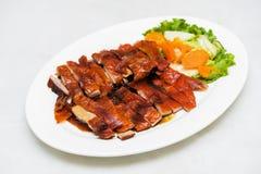 Ψημένα πάπια και λαχανικά, κινεζικό ύφος Στοκ Εικόνες