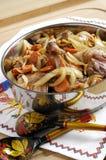 ψημένα πάπια λαχανικά στοκ φωτογραφία