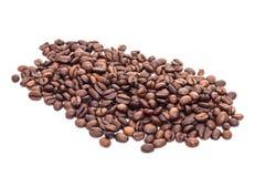 Ψημένα πρόστιμο φασόλια καφέ Στοκ εικόνα με δικαίωμα ελεύθερης χρήσης