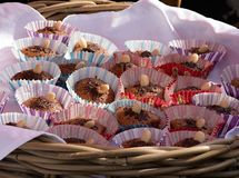 ψημένα πρόσφατα muffins Στοκ φωτογραφίες με δικαίωμα ελεύθερης χρήσης
