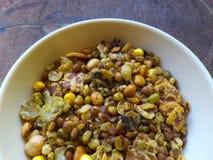 Ψημένα σιτάρια και δημητριακά Στοκ Φωτογραφία