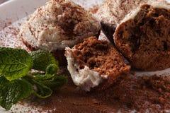 Ψημένα σπιτικά muffins Στοκ Εικόνα