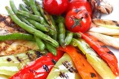 Ψημένα στη σχάρα λαχανικά Στοκ εικόνα με δικαίωμα ελεύθερης χρήσης