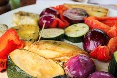 ψημένα στη σχάρα λαχανικά Στοκ φωτογραφία με δικαίωμα ελεύθερης χρήσης