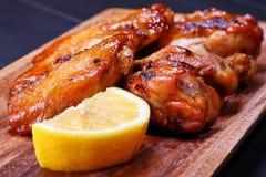 ψημένα στη σχάρα κοτόπουλ&omicro Στοκ Φωτογραφία