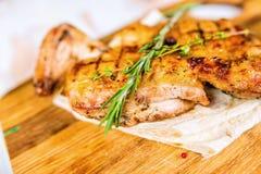 Ψημένα στη σχάρα κρέατα Στοκ Εικόνα