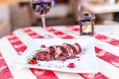 Ψημένα στη σχάρα κρέατα Στοκ φωτογραφίες με δικαίωμα ελεύθερης χρήσης