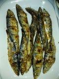 Ψημένα στη σχάρα ψάρια στοκ φωτογραφίες με δικαίωμα ελεύθερης χρήσης