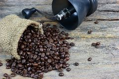 Ψημένα φασόλια καφέ 2 στοκ εικόνες