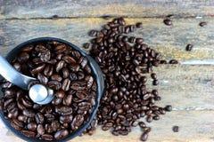 Ψημένα φασόλια καφέ 3 στοκ εικόνες