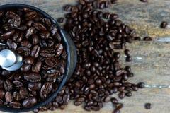 Ψημένα φασόλια καφέ 6 στοκ εικόνες