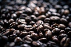 Ψημένα φασόλια καφέ Στοκ φωτογραφία με δικαίωμα ελεύθερης χρήσης