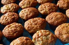 ψημένα φρέσκα muffins στοκ εικόνες