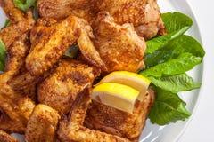 ψημένα φτερά κοτόπουλου Στοκ φωτογραφίες με δικαίωμα ελεύθερης χρήσης