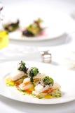 ψημένα ψάρια λαχανικά ορεκ&t στοκ φωτογραφίες με δικαίωμα ελεύθερης χρήσης