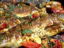 Ψημένα ψάρια Στοκ Εικόνες
