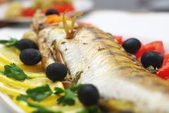 ψημένα ψάρια Στοκ Φωτογραφία