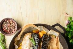 Ψημένα ψάρια Στοκ φωτογραφία με δικαίωμα ελεύθερης χρήσης