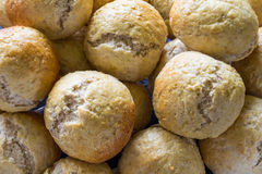 Ψημένα ψωμί και αρτοποιείο κουλουριών Στοκ φωτογραφία με δικαίωμα ελεύθερης χρήσης