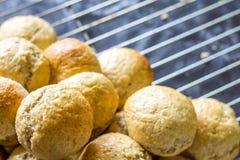 Ψημένα ψωμί και κουλούρια Στοκ εικόνα με δικαίωμα ελεύθερης χρήσης