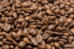Ψημένα arabica φασόλια καφέ Στοκ εικόνες με δικαίωμα ελεύθερης χρήσης