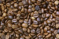 Ψημένα arabica φασόλια καφέ Στοκ φωτογραφία με δικαίωμα ελεύθερης χρήσης