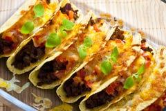 ψημένα tacos Στοκ Εικόνα