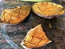 Ψημένες γλυκές πατάτες Στοκ φωτογραφία με δικαίωμα ελεύθερης χρήσης