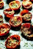 Ψημένες ντομάτες κερασιών Στοκ εικόνες με δικαίωμα ελεύθερης χρήσης