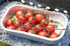 ψημένες ντομάτες Στοκ Φωτογραφίες