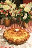 Ψημένες πίτα και δέσμες γαμήλιων κέικ στοκ φωτογραφίες με δικαίωμα ελεύθερης χρήσης