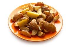 ψημένες πατάτες σακακιών τους Στοκ Εικόνες