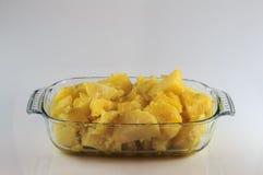 Ψημένες πατάτες Στοκ Εικόνες