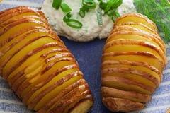 ψημένες πατάτες Στοκ φωτογραφία με δικαίωμα ελεύθερης χρήσης
