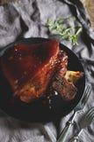 Ψημένη άρθρωση χοιρινού κρέατος Στοκ Εικόνα