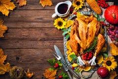 Ψημένη ημέρα των ευχαριστιών Τουρκία Στοκ Εικόνες