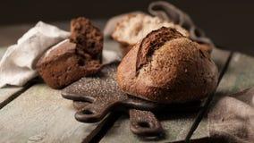 Ψημένη κατάταξη ψωμιού στοκ φωτογραφίες