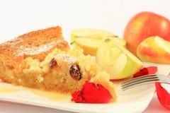 Ψημένη πίτα μήλων Στοκ Εικόνες
