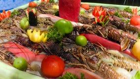 ψημένη πιάτο θάλασσα μαϊντανού τροφίμων ψαριών Στοκ εικόνα με δικαίωμα ελεύθερης χρήσης