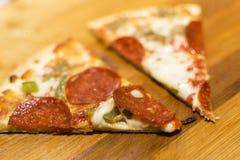 ψημένη πρόσφατα πίτσα Στοκ εικόνα με δικαίωμα ελεύθερης χρήσης