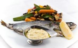 ψημένη σάλτσα ψαριών Στοκ φωτογραφία με δικαίωμα ελεύθερης χρήσης